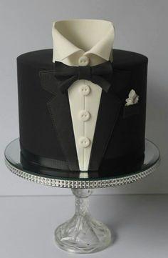 tuxedo birthday cakes