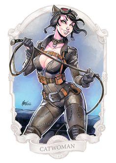 Gotham City Sirens: Catwoman - Martin Abel
