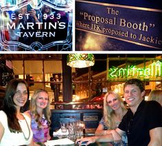 Crystal Ball- Martin's Tavern; The Proposal Booth. Where JFK Proposed To Jackie O. Georgetown, Washington, DC.