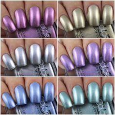 Color Club Halo Chrome Collection - Swatches & Review by Olivia Jade Nails