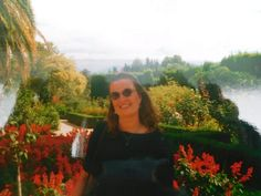 Astrid Günther at the Alhambra in Granada, Spain