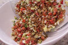 Salada de trigo