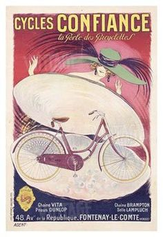 Cycles-Confiance-Giclee-Print-C10120723 by le cadre bicycles, via Flickr