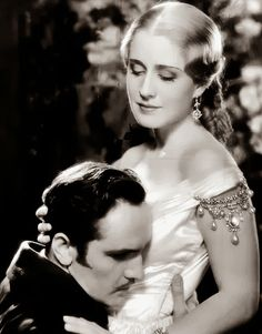Norma Shearer and Fredric March in Smilin' Through, 1932
