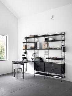 String. Home office storage