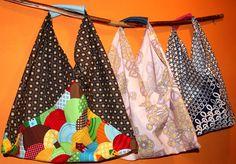 schnipp schnapp kragen ab: Origamibags (Einkaufen ohne Plastik)