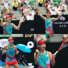 Ladies and gentlemen, your new Australian Open champion: Angelique Kerber! #firstgrandslamtitle