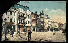 Találatok (SZO=(miskolc)) | Képeslapok | Hungaricana Louvre, Street View, Mansions, Retro, House Styles, Building, Travel, Viajes, Manor Houses