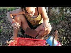 Pesca Hermosa Chica - Pesca Increíble En Camboya - Cómo Atrapar Peces A Mano Parte 478 - YouTube