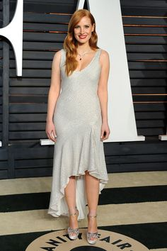 Jessica Chastain in H&M Conscious Collection