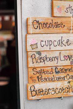 ice cream flavors :)