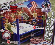 RINGSIDE COLLECTIBLES WWE Toys, Wrestling Action Figures, Jakks Pacific, Classic Superstars Action F: RINGS & PLAYSETS