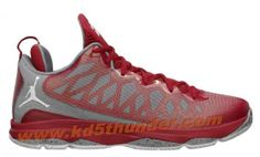 Jordan CP3.VI Cement Pack Gym Red Grey CP3 Shoes 2013