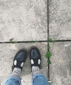 Docs and Socks: the Polley shoe. Shared by bethan_marie_emilie