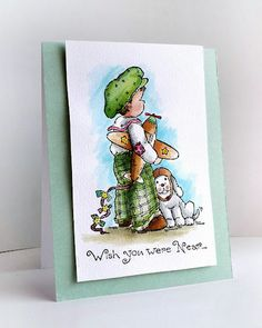 Simple but so darling card (card by Cathy Fong).