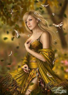 Freja: Goddess of love and war.