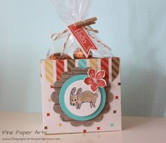 Stampin' up! Oster-Verpackung mit dem Envelope Punch Board, Retro-Spaß und Life in the Forest - Fine Paper Arts