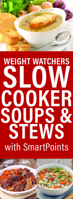 Weight Watchers Slow Cooker Soups                                                                                                                                                                                 More