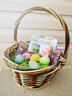 Easter basket ideas got friends neighbors co workers that you easter basket ideas for kids of all ages baby through teenagers negle Gallery