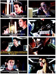 Arrow - Barry Allen & Oliver #Season2
