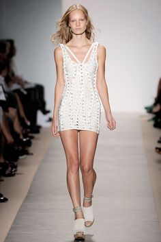 Hervé Léger by Max Azria Spring 2010 Ready-to-Wear Fashion Show Collection