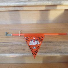 Vintage 1960's Esso Tiger Antenna/Mirror Flag by KlinknKlunk, $12.00 1960s, Old Things, Flag, Child, Mirror, Projects, Photos, Vintage, Toys