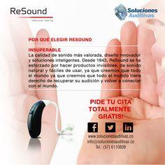 por que elegir ReSound? Audio, Innovation Design, Innovative Products, Elegant