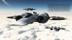 futuristic military spaceship fighter - Google Search