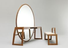 Buhr : Mirror Table Bench