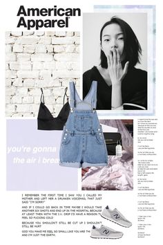 """""""And if love is a drug, I don't want it Because I don't have any self control"""" by lizasamoylova ❤ liked on Polyvore featuring Milton & King, MICHAEL Michael Kors and New Balance"""