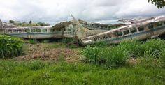 Caravan Pilots: Former Penta Airlines Caravans at Santarem Brazil. Visit site for article.