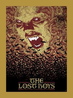 The Lost Boys by Chris Garofalo Horror Movie Posters, Horror Movies, Film Posters, Best Vampire Movies, The Lost Boys 1987, Pomes, Horror Artwork, Never Grow Old, Iconic Movies