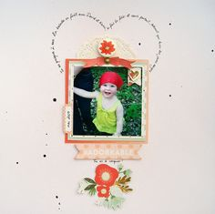 "Never Cut the Scrap!: ""Adorkable"" layout. #mymindseye #scrapbooking"