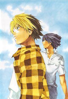 Hikaru no Go Manga Poster - Hikaru and Akira, favorite ship of all time!!