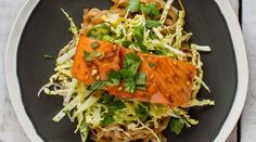 This tasty marinated salmon and noodle dish is packed with zingy Vietnamese flavours.