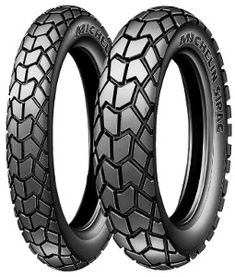 Michelin Sirac Rear 110/90-17 TT 60P Rear wheel, M/C