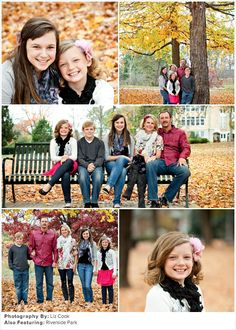 Family Picture Ideas: Autumn Glory