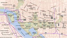 map of washington dc | Free Printable Maps: Washington DC Map