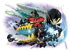 Ultra Bestias Pokémon - Séptima Generación