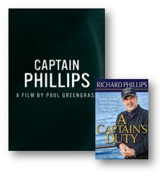 Captain Phillips based on the book, A Capatin's Duty by Richard Phillips, in theatres October 2013