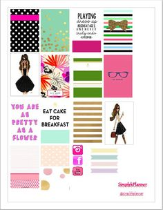 FREE Kate Spade Inspired Stickers