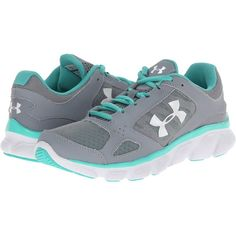 Stay light on your feet in style with the high-performance UA Micro G Assert V! Upper uses light, supportive foam sandwiched between two layers of breathable… Athletic Outfits, Athletic Wear, Athletic Shoes, Under Armour Shoes, Under Armour Women, Armor Shoes, Grey Shoes, Cute Shoes, Cool Shoes For Women