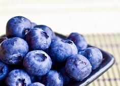 A great blueberry face mask:  Ingredients: 1/2 cup frozen blueberries, 1/2 cup plain yogurt, 1/3 cup honey, 1 tablespoon lemon juice, 1 tablespoon quick oats  *In a a blender, blend the blueberries until smooth. In a separate bowl, mix together the rest of the ingredients until smooth, then add blueberries. Apply to skin using an old makeup brush, let sit for 15 minutes.