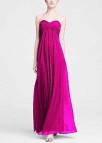 Long bridesmaid dress idea