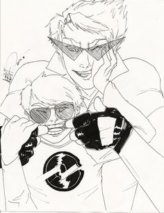 Homestuck - Strider bros.