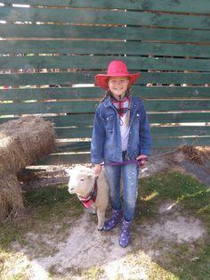 'Calf Club Day' oder ein Farmtiertag an der Schule