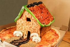 So, maybe this is just a seasonal thing (to replace your decidedly un-delicious gingerbread house), but in my opinion, a pizza hut this majestic can't be limited to one month of the year.