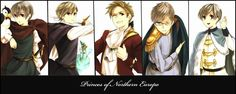 Princes of Northern Europe :D