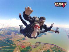 Paraquedismo em Foz do Iguaçu? Sim, nós temos! ;-)
