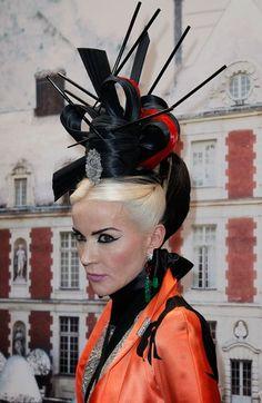 daphne guinness hair origami